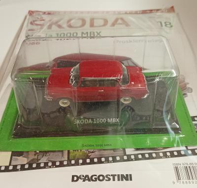 Škoda 1000 MBX 1:43