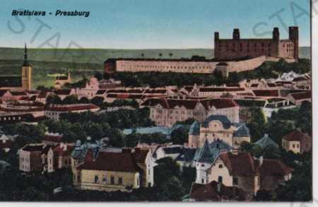 Bratislava - Pressburg (Slovensko) pohled na město