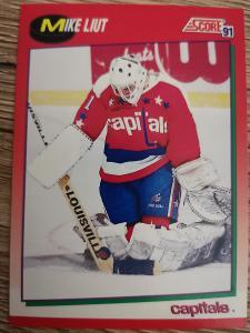 Karta Score 91-92 č. 99 Mike Liut