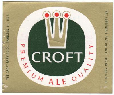 USA Croft Brg - Cranston 04 - PREMIUM - jiná tisk. značka
