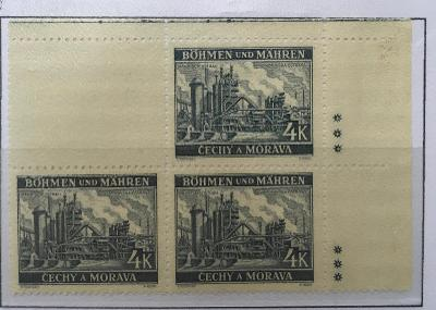 Protektorát 1939 Krajiny,hrady,města I. pof.37II vk1 dz+