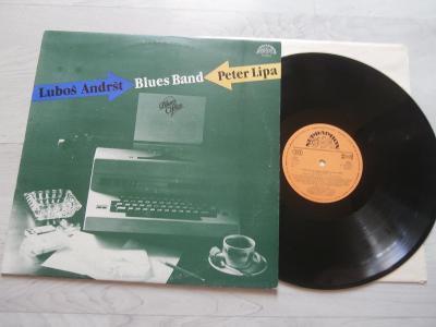 1x LP PETER LIPA  + LUBOŠ ANDRŠT  BLUES BAND - BLUES OFFICE (ARTIA)