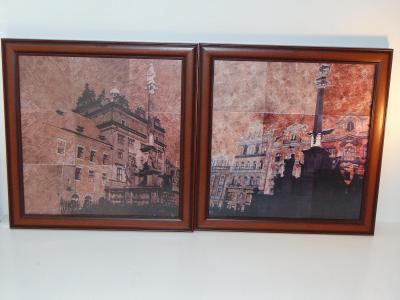 Dva obrazy, Plzeň, tisk