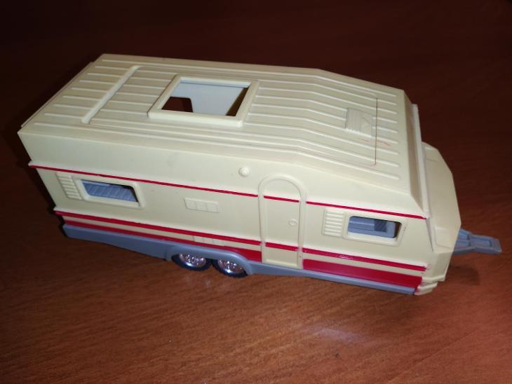 Karavan-retro hračka - Starožitnosti