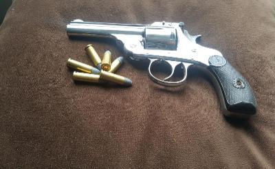 Historický revolver Harrington-Richardson cal.32 1887 Hezký pův. stav