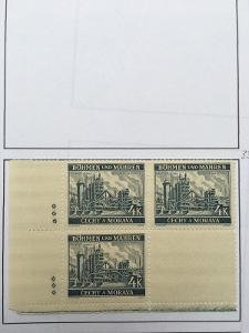 Protektorát 1939 Krajiny,hrady,města I. pof.37II vk4 dz*