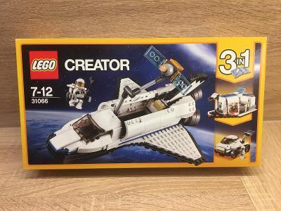 Nové lego 31066 Vesmírný průzkumný raketoplán