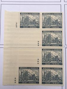 Protektorát 1939 Krajiny,hrady,města I. pof.37II vk10 dz*
