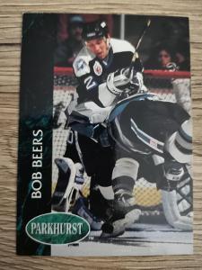 Karta Parkhurst 92-93 č. 401 Bob Beers