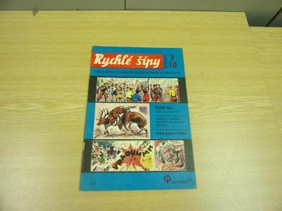 Komiks RYCHLÉ ŠÍPY,Jaroslav Foglar,il. Jan Fischer,č. 3/10 2. roč.1970