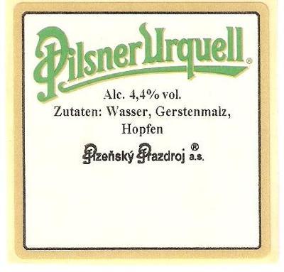 PE pivovar Plzeň (samolepka)