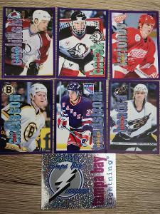 Hokejové nálepky panini NHL 98-99