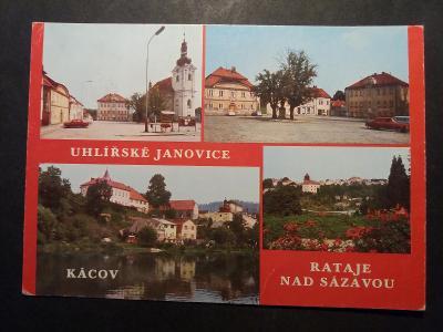 UHLÍŘSKÉ JANOVICE - KÁCOV - RATAJE n. S. - Kutná Hora - VF z30