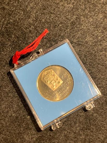 🌶 R!! Stříbrná MINCE - 50 Kčs - TELČ - 1986 PROOF!!! POUZE 9.619 ks - Numismatika