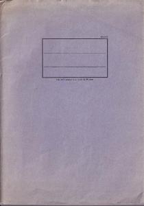 Zápisník fialový, první polovina 20.století