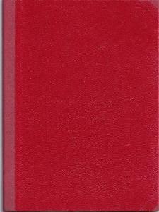 Zápisník červený, první polovina 20.století