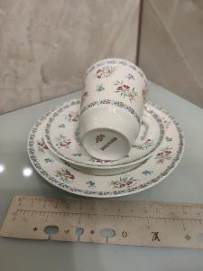 Stary šálek s podšálkem porcelán USSR