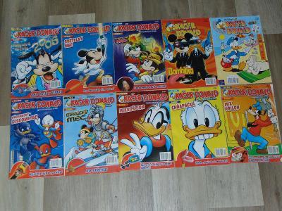Časopisy Kačer Donald 10 kusů