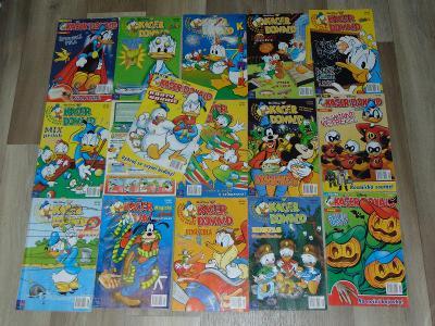 Časopisy Kačer Donald 16 kusů