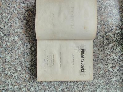 Kniha Přemyslovci 1863