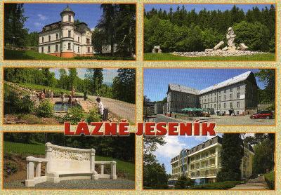 Lázně Jeseník - víceobrázková