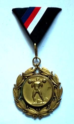 Vyznamenání ČSR 1932 Mistr Země Moravsko-Slezské za 1, Místo,bronz R!