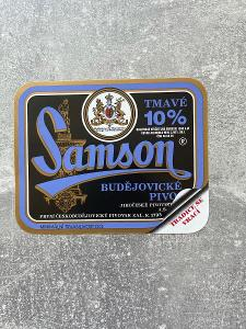 Pivní etikety Samson Originál 38