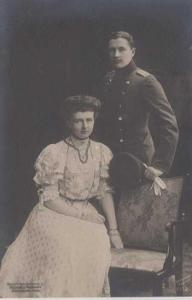 Skupinový portrét muže a ženy