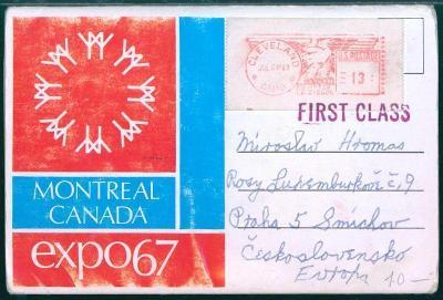 27A411 Leporelo Expo 67 Montreal, Kanada