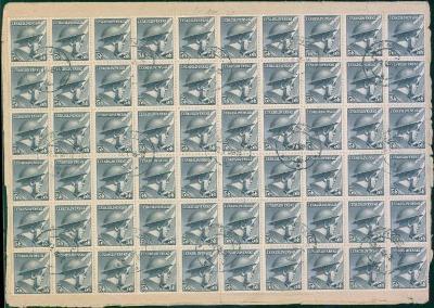 11B335 Provizorium Brno, 60 ks známek 5h na Nejvyšší soud, Praha