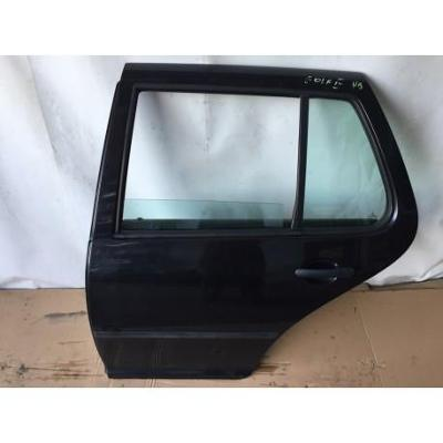 VW Golf IV HB 97- drzwi tylne lewe czarne