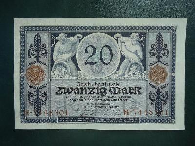 20 Mark 1915 UNC
