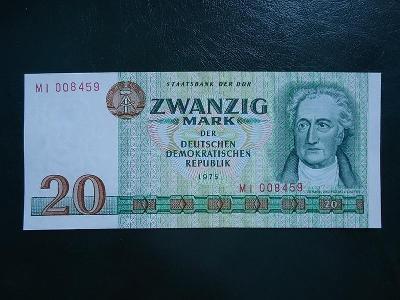 20 Mark 1975 UNC
