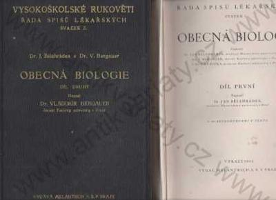 Obecná biologie svazek 1. Melantrich 1934