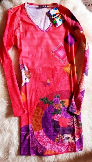 DESIGUALNIGHTDRESS _ROMANTIC luxusní pyžámko/pyžamové šaty/ M(M-L)1,-