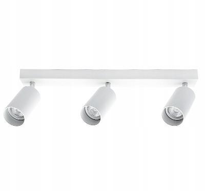 SPOT 3 LED BAR - moderní stropní světlo lustr - ČERNÁ / BÍLÁ