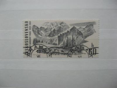 1782 - Tatranský národní park 1969 - TANAP - popis - H-3
