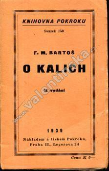 O kalich - Knihy