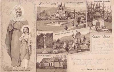 STARÁ VODA - POUTNÍ MÍSTO - OKÉNKOVÁ -25-LY91