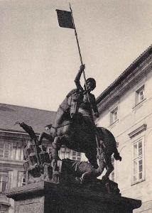 PRAHA - SOCHA SV.JIŘÍ - 16-MY23