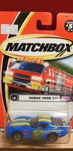 "MATCHBOX 2001 "" DODGE VIPER GTS ""  #5"