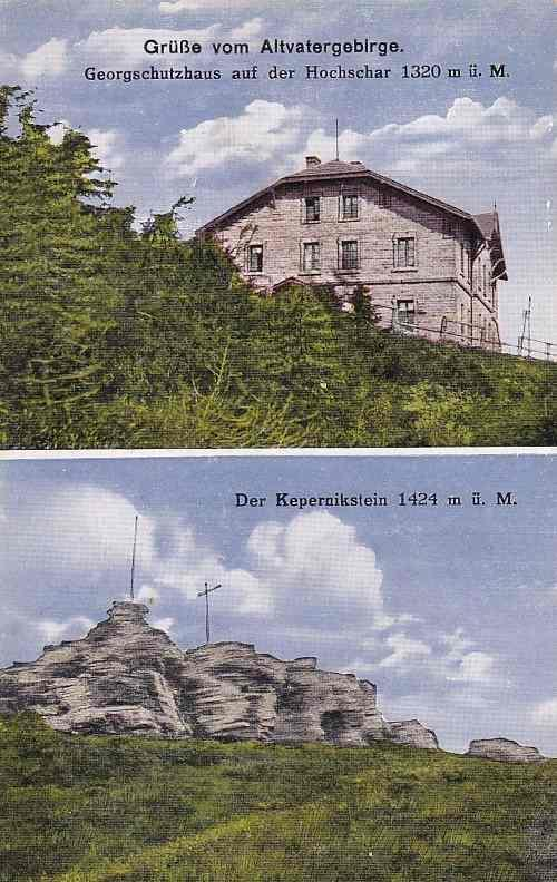 JESENÍK - ŠERÁK - OKÉNKOVÁ - 334-SQ77 - Pohlednice