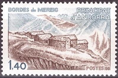 Andorra FRA, Mi 312 , **