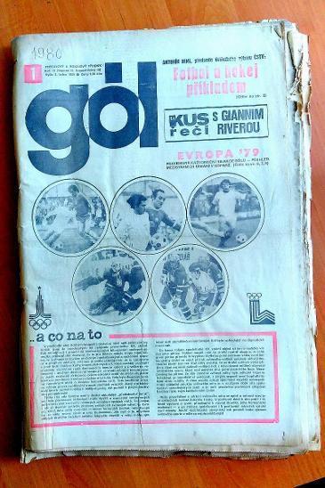 Gól 1980 kompletní ročník