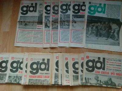 Gól 1984 kompletní ročník