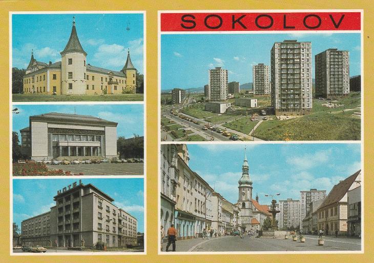 SOKOLOV  - Pohlednice