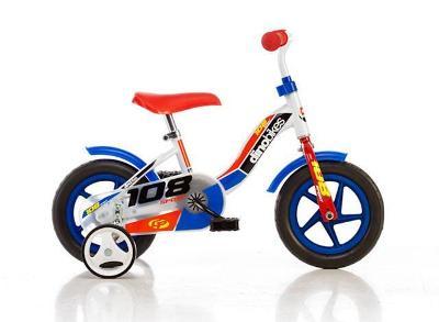 Dino 108L modrá 10 dětské kolo