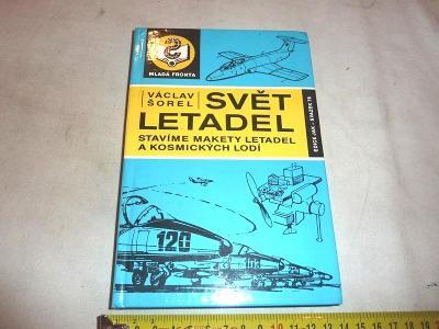 Modely  LETADEL   .. plánky  SVĚT LETADEL kniha