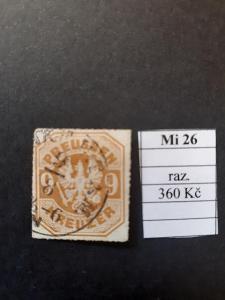 Preussen Mi 26 razítkované