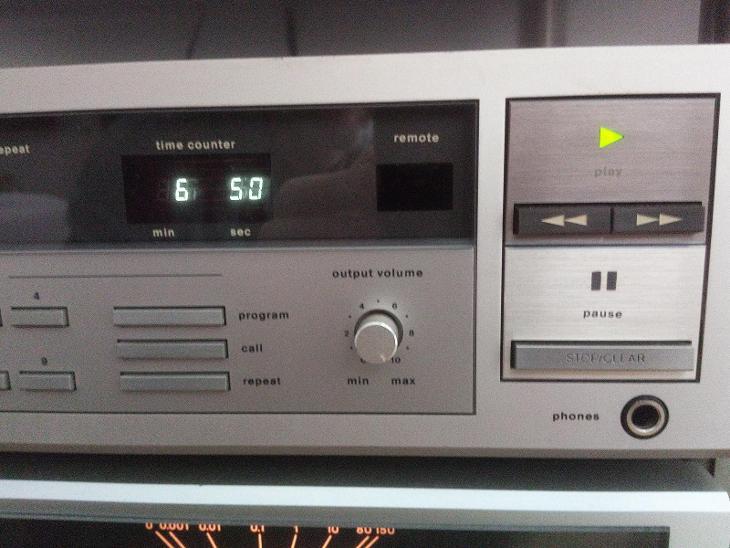 Cd přehrávač Dual130 - TV, audio, video